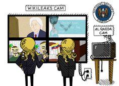 Blog do Diogenes Bandeira: Visitantes do WikiLeaks também estariam sido vigia...