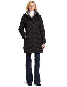 Nautica Women`s 3/4 Inch Length Down Jacket $100.00