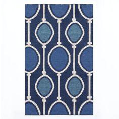 Abacus Wool Dhurrie - Regal Blue | West Elm