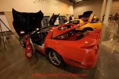 This breathtaking 1994 Custom Chevrolet Corvette is owned by Bill Murray.  He has it on display at the Corvette Chevy Expo in Houston, Texas.  Bill has displayed several of his     outstanding Corvettes over the years at the Expo and has taken home a lot of awards.  This year, among his awards, he was presented with the prestigious President's Award for his custom Vette.
