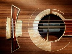 "DK Guitars - ""Concertino"" model shown ~ AMAZING design! ~ Here is the web link > http://dkguitars.com/ ~ The link at the bottom is NOT the website, just some random generated pinterest page ..."