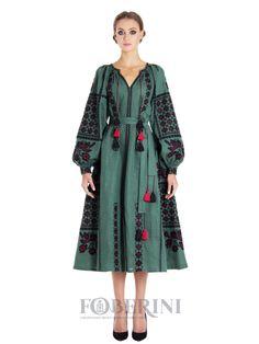 Дизайнерська сукня вишиванка FOBERINI
