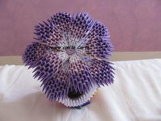 pianta con vaso in origami 3d #creareconlacarta #origami #origami3d #handemade