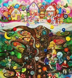 The Magic Faraway Tree - Kerry Darlington  @Malinda L Children's Wardrobe - you would love this !