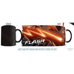 The Flash TV Series Time For A Hero Morphing Mug