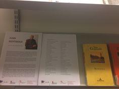 Juan Goytisolo (1931-4 de junio 2017)El escritor barcelonés fué Premio Cervantes en 2014. En Este expositor de la primera planta tenéis una selección de sus obras. Peter Handke, March 21, International Day Of, Door Prizes, Writers