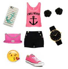 """""""I will never sink~"""" by lakya1000 on Polyvore featuring interior, interiors, interior design, home, home decor, interior decorating, Converse, Casetify, Chanel and Boutique Moschino"""