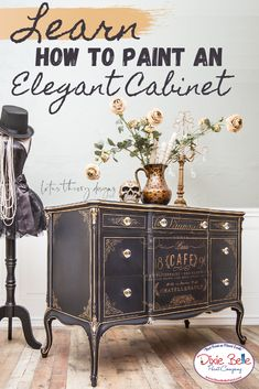 How to Paint with In the Navy - Dixie Belle Paint Company Decor Style Home Decor Style Decor Tips Maintenance Colorful Furniture, Dixie Belle Paint, Furniture Makeover Diy, France Decor, Black Painted Furniture, Redo Furniture, Home Decor Styles, Paint Companies, Furniture Decor