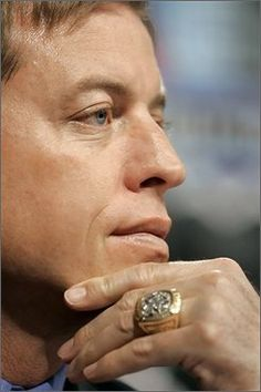 Former Dallas Cowboys quarterback Troy Aikman,