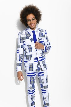 R2-D2™ Suit from OppoSuits. Bleep Bleep Do you want to be a true companion of the Jedi? #starwars #r2d2 #opposuits