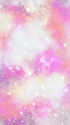 Pink sparkly galaxy cocoppa iPhone wallpaper