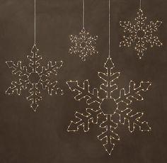 Starry Light Snowflake - Hexagon | RH
