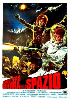 An alien race of Diaphinoids use the bodies of human astronauts as hosts on the planet Mars in War of the Planets (1966).