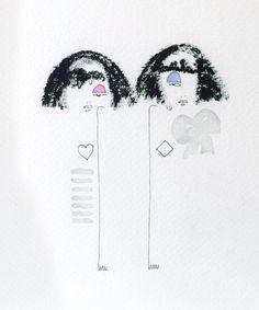 One Eyed Girl's Illustrations Jeremy Scott's A/W15 via Showstudio