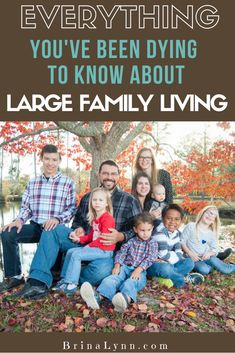 I get asked questions all the time about how we do things. Large families are not the norm anymore, so I know you are curious. Here's everything you've been dying to know about large family living! Big Family, Family Life, All About Mom, How Many Kids, Marriage And Family, Christian Parenting, Mom Blogs, Parenting Advice, Teaching Kids