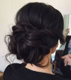 Up Hairstyles, Straight Hairstyles, Wedding Hairstyles, Hairstyle Ideas, Straight Updo, Formal Hairstyles, Bridesmaid Hairstyles, Summer Hairstyles, Bridesmaid Hair Updo Side