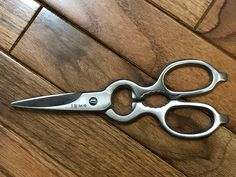 Hand-made cooking scissors from Sakao, Osaka.  Beautiful!