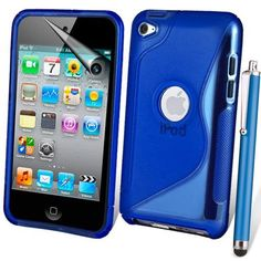 £3.99  supergets® Apple iPod touch 4th Generation ( Launched Sept 2010 and Oct 2011 ) Wave Hydro Gel Silicone Case Cover Skin, Stylus, Screen Protector And Polishing Cloth - Dark Blue by SUPERGETS®, http://www.amazon.co.uk/dp/B006OMM8YO/ref=cm_sw_r_pi_dp_Y3-lrb1N110PE