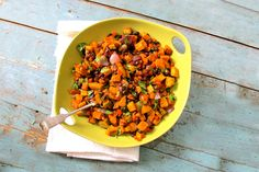 Sweet Potato and Black Bean Salad