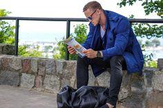 @modny_tata in an elegant look combined with our Belvedere  ! #stylish #daddy #fatherpower #morinibags #cośdlamężczyzn