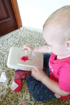 Great for older babies and younger toddlers to work on fine motor skills and hand eye co-ordination. They also love the fabric scraps texture and sensory aspect!