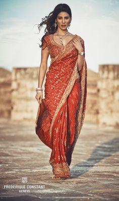 Latest Saree Images To Inspire Your Bridal Look Indian Beauty Saree, Indian Sarees, Pakistani, Bridal Silk Saree, Bridal Lehenga, Wedding Saree Collection, Indian Fashion Trends, Indian Bridal Outfits, Saree Trends