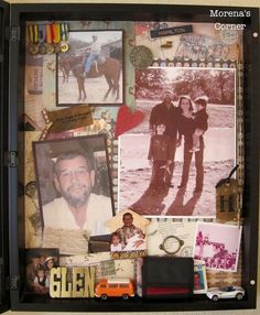 Tips for Creating a Memorial Shadow Box | Morena's Corner #memorial