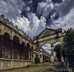 Beautiful Hacienda Yaxcopoil Yucatan Mexico. It is open to the public.