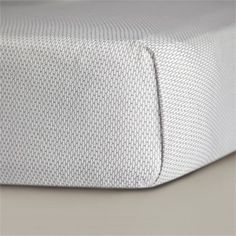 Mosi Crib Sheet, Pewter, grey, unisex, gender neutral, bedding