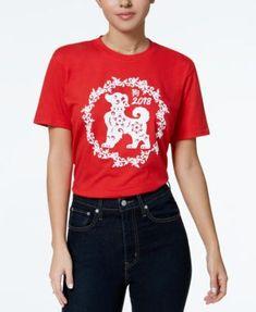 d7ba9f865 Barbie X Love Tribe Juniors' Logo Graphic T-Shirt & Reviews - Tops -  Juniors - Macy's