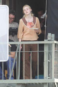 Elle Fanning Photos - Elle Fanning and Peter Dinklage 'Low Down' in LA - Zimbio