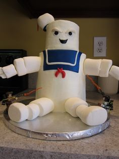 Stay Puff Marshmallow Man