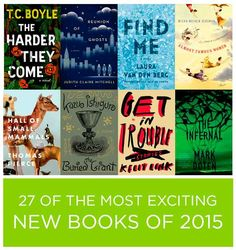 27 Of The Most Exciting New Books Of 2015