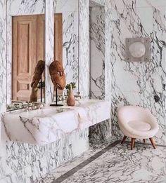 Gorgeous Marble Bathroom Design Ideas - The Wonder Cottage Bathroom Lighting Design, Bathroom Interior Design, Bathroom Designs, Bathroom Ideas, Bathroom Trends, Bathroom Layout, Bathroom Vanities, Small Bathroom, Master Bathroom