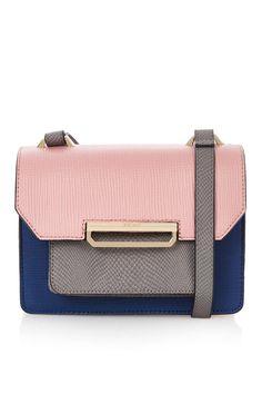 #topshop Colourblock Crossbody Bag