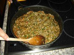 Betty's Cuisine: Γεμιστά με ρύζι Grains, Rice, Beef, Food, Meat, Eten, Ox, Seeds, Ground Beef