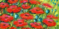 """""""Poppies"""" by Nuala Holloway - Oil on Canvas Still Life, Poppy, Oil On Canvas, Flowers, Painting, Art, Art Background, Painting Art, Kunst"""