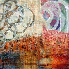 Vojkan Djurdjevic - July, 2013. mixed media on canvas 70 x 70 cm