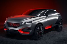 If you had any lingering concerns that hybrid cars were boring, Peugeot just smashed them to bits. Its new Quartz crossover concept blends the muscular,