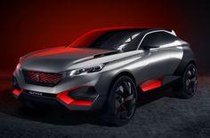 Peugeot - Novo conceito híbrido é meio SUV, carro esportivo Se você tivesse alguma preocupação persistente que carros híbridos eram chatos, Peugeot…