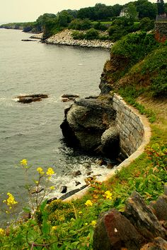 Newport, Rhode Island - Cliff Walk  did this more than once