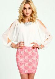 Coldshoulder Lace Dress
