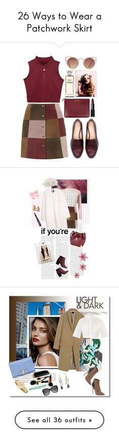 """""""26 Ways to Wear a Patchwork Skirt"""" by polyvore-editorial ❤ liked on Polyvore"""