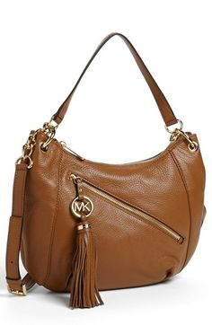 MICHAEL Michael Kors 'Charm Tassel' Convertible Shoulder Bag, Medium available at #Nordstrom