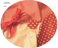 Stoffpaket♥Loop f.Selbermacher Erdbeerlook-+Button & Schleife  der Stoff ist rot-weiss wollte einfach nicht so schick aufs Foto siehe Foto 3 & 4 für Farbtreue