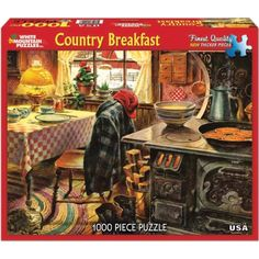 White Mountain Puzzles Country Breakfast - 1000 Piece Jigsaw Puzzle White Mountain Puzzles http://www.amazon.com/dp/B00C5R4TIA/ref=cm_sw_r_pi_dp_SaOuvb0XDG3MP