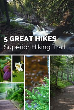 5 Great Hikes on the Minnesota North Shore's Superior Hiking Trail.