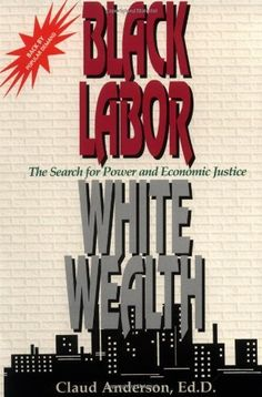 Black Labor, White Wealth : The Search for Power and Economic Justice by Claud Anderson, http://www.amazon.com/dp/0966170210/ref=cm_sw_r_pi_dp_Mvm1qb17Y65ED
