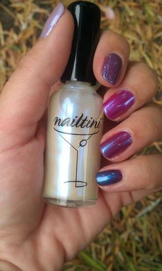 #Nailtini in Blue Flame changes all your polishes into the on-trend color of the season! www.tinibeauty.com