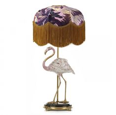 Flamingo Lampstand with TILIA 'Limerence' Lampshade Set - Quartz Pink
